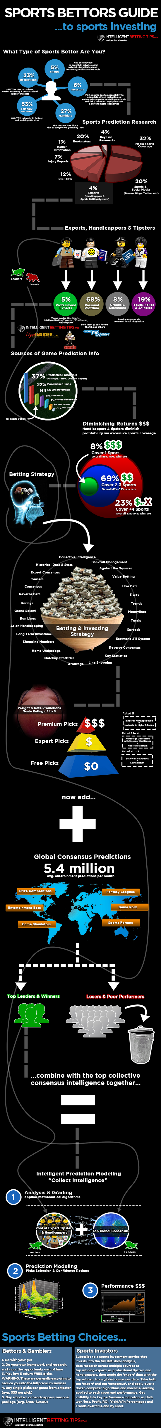 Sports Betting System Guide | Infographic